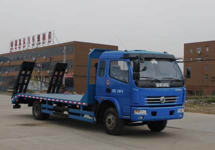 东风9-12吨平板运输车