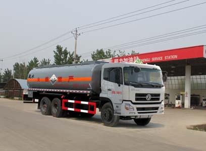 东风天龙后双桥化工液体运输车