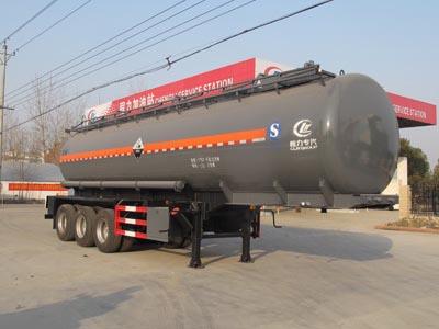 三桥11米盐酸罐式运输半挂车