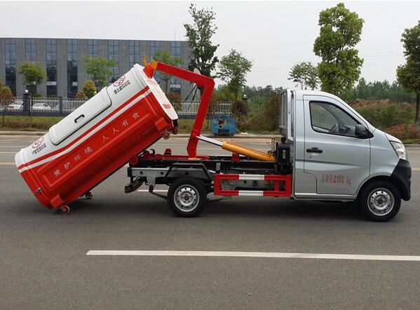 长安小型拉臂垃圾车 2.5-3方