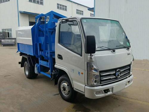 凯马3方自装卸式垃圾车