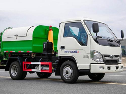 福田3-4勾臂垃圾车(柴油版)